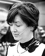 Maria Piętak-Frączek w studio